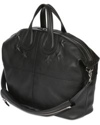 Givenchy Embossed Stars Nightingale Leather Bag - Lyst
