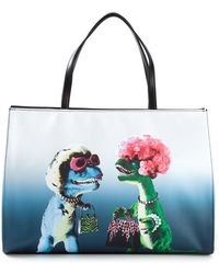 Moschino Cheap & Chic Printed Tote - Lyst
