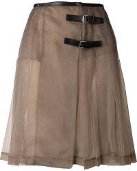 Jean Paul Gaultier Kilt Skirt - Lyst