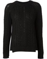 Rag & Bone Nala Boyfriend Pullover Sweater - Lyst