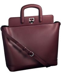 Cartier Jeanne Toussaint Leather Tote - Lyst