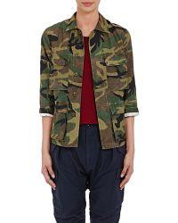 NLST - Camouflage-print Field Jacket - Lyst
