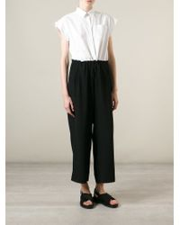 I'm Isola Marras - Contrast Shirt And Trouser Jumpsuit - Lyst