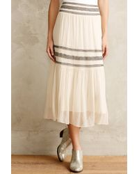 Moulinette Soeurs | Midstripe Peasant Skirt | Lyst