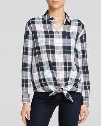 Equipment Daddy Plaid Cotton Shirt - Lyst