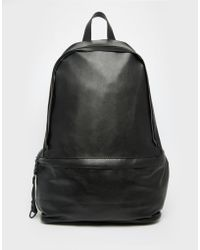 Dark Future - Backpack With Zip Details - Lyst