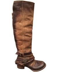 Freebird By Steven Aspen Bovine Leather Tall Boots - Lyst
