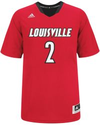 Adidas Mens Shortsleeve Louisville Cardinals March Madness Jersey - Lyst