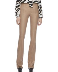 Gucci Stretch Flannel High-Waist 70S Pants - Lyst