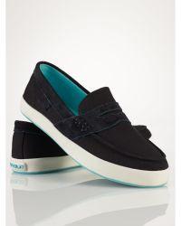 Polo Ralph Lauren Evan Ii Canvas Sneaker - Lyst