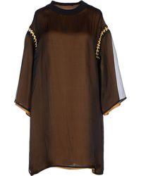 Maurizio Pecoraro Short Dress - Lyst