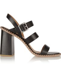 Marc By Marc Jacobs Leather Sandals - Lyst