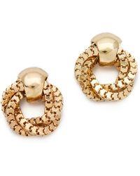 Adia Kibur - Door Knocker Earrings - Lyst