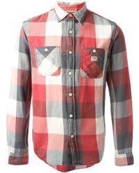 Ralph Lauren Chequered Two Pockets Shirt - Lyst
