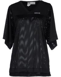 Haus By Golden Goose Deluxe Brand T-Shirt black - Lyst