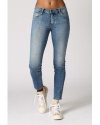 Neuw Razor Ankle Jean blue - Lyst
