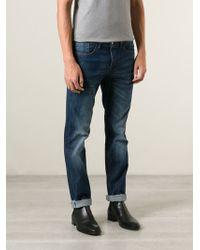 Iceberg Straight Leg Jeans - Lyst