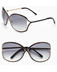 Tom Ford Rickie Oversized Sunglasses - Lyst