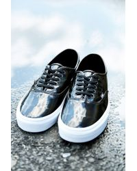Vans Classic Authentic Pleather Sneaker - Lyst