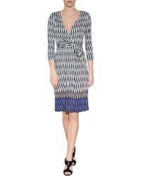 Diane von Furstenberg New Julian Wrap Dress - Lyst
