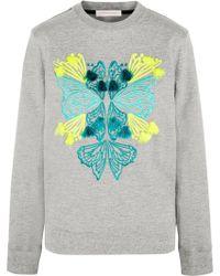 Matthew Williamson - Embroidered Cotton-terry Sweatshirt - Lyst