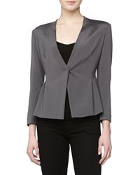 Donna Karan New York Vneck Cardigan Jacket Geode - Lyst