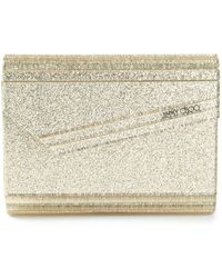 Jimmy Choo Gold Candy Clutch - Lyst