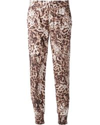 Sam & Lavi - Leopard Print Trousers - Lyst