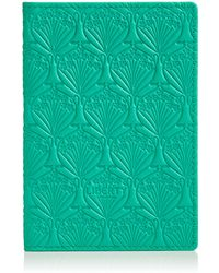 Liberty - Mint Iphis Leather Passport Cover - Lyst