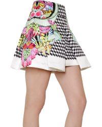 Manish Arora - Printed Duchesse Box Skirt - Lyst