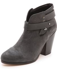 Rag & Bone Harrow Booties Slate - Lyst
