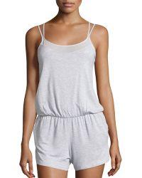 Alo Yoga - Sunshine Strappy Short Jumpsuit - Lyst