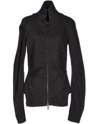 Gareth Pugh Denim Outerwear black - Lyst