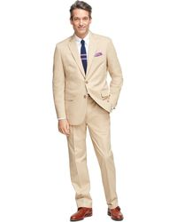 Brooks Brothers Madison Fit Twill Suit - Lyst