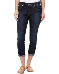 True Religion Fuchsia Skinny Brooklyn Lonestar Capri Jeans