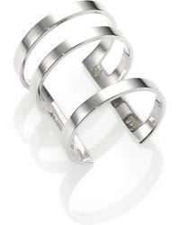 Jennifer Zeuner Jewelry Nicolette Sterling Silver Ring - Lyst