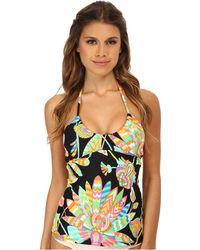 Trina Turk Tahitian Floral Tankini multicolor - Lyst