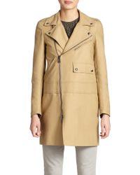 Belstaff Phillips Waxed Cotton Trenchcoat - Lyst