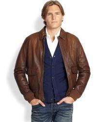 Polo Ralph Lauren Farrington Bomber Jacket - Lyst