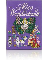 Olympia Le-Tan Alice in Wonderland Clutch - Lyst