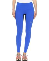 Lucas Hugh Core Performance Leggings - Azure - Lyst