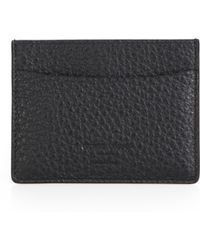 Giorgio Armani Leather Card Case - Lyst