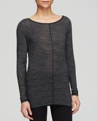 Hard Tail - Split Back Long Sleeve Jumper - Lyst