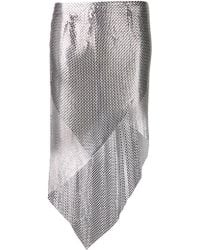 Paco Rabanne Long Chainmail Skirt - Lyst