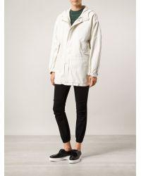 Nili Lotan White Anorak Jacket - Lyst