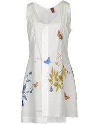 Dondup Short Dress - Lyst