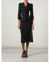 Biba - Sequinned Skirt Suit - Lyst