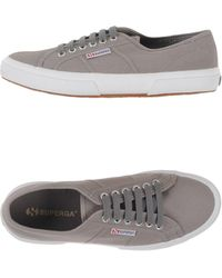 Superga   gray Low-tops & Trainers   Lyst