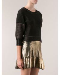 Ohne Titel | Cropped Sweater Top | Lyst