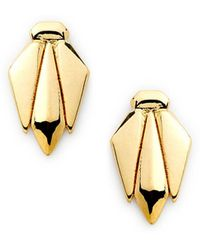 Rebecca Minkoff Bug Stud Earring - Lyst